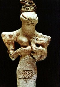 anunnaki statue